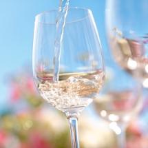 Glas wijn